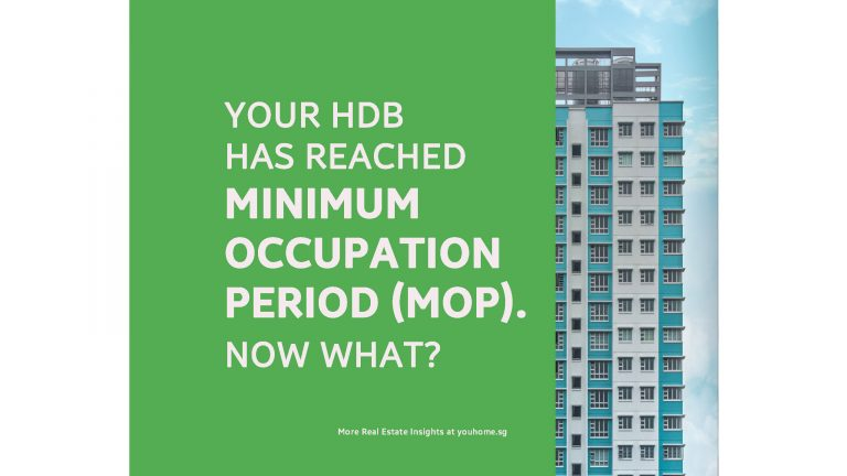 Your HDB has reached Minimum Occupation Period (MOP). Now what?