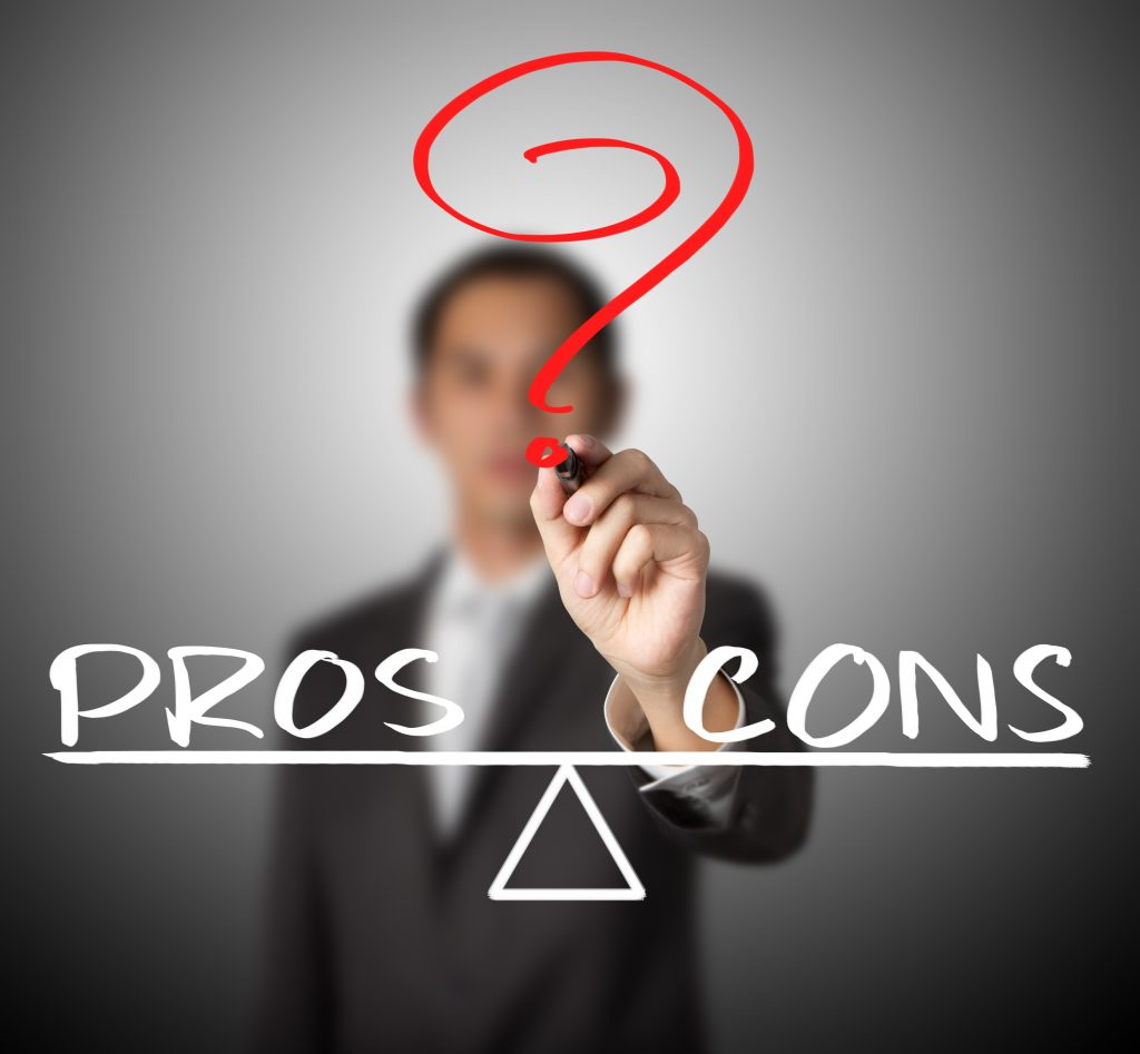 pros and cons of sell 1 buy 2