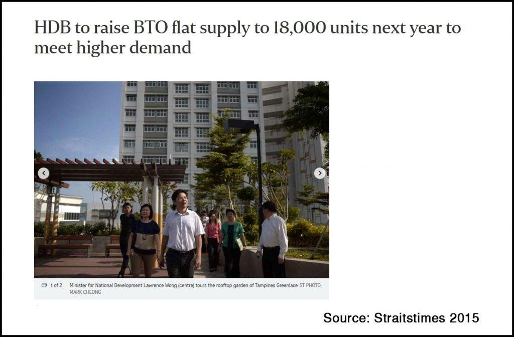 hdb supply and demand