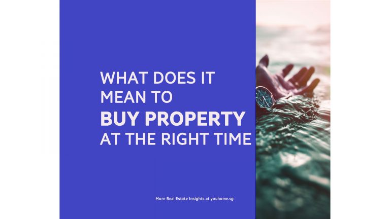 What does it mean to Buy Property at the Right Time?