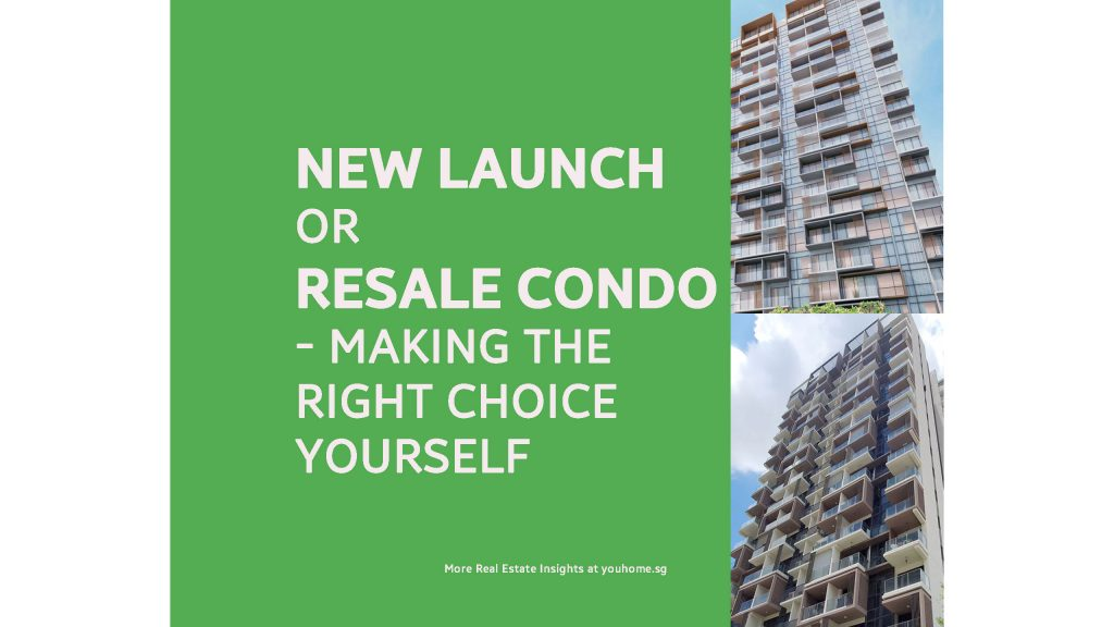 new launch or resale condo